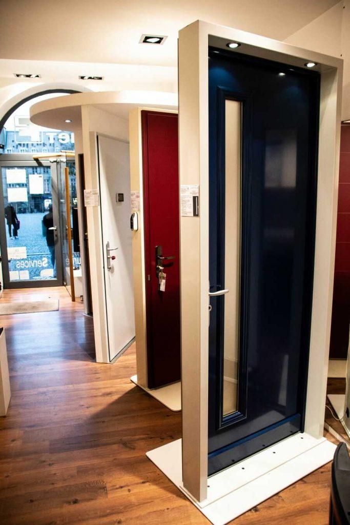 différents modèles de portes blindées à Rennes