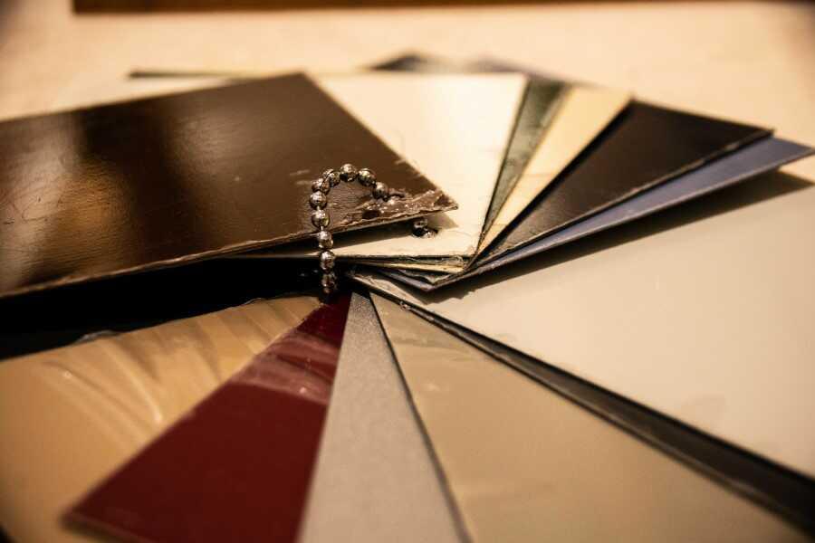 un large choix de couleurs pour vos portes blindées